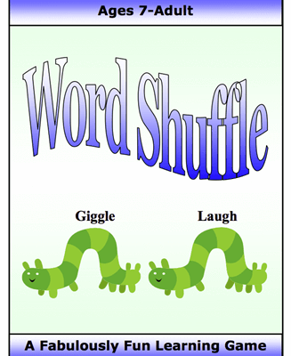 Word Shuffle Figurative Language, Literary Term and Grammar Game Digital Download