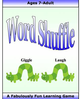 Word Shuffle Figurative Language, Literary Term and Grammar Game Digital Download