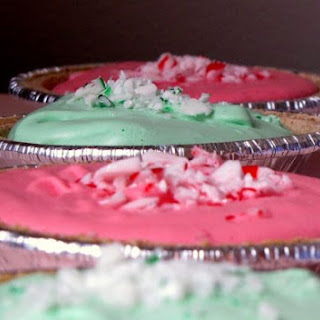 No Bake Peppermint Pie