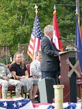 Photo: Retired MG Earl Adams, former Battalion Commander