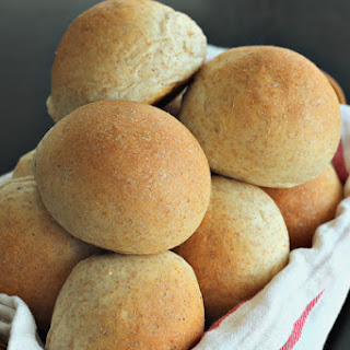 Buttery (Whole Wheat) Bread Machine Rolls