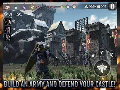 Heroes and Castles 2 v1.01.03.1 Mod Money + Skill