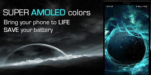 Screenshot for Live Wallpapers 3D--Animated AMOLED 4D Backgrounds in United States Play Store