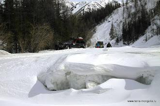 Photo: Снежное русло не всегда бывает томным.