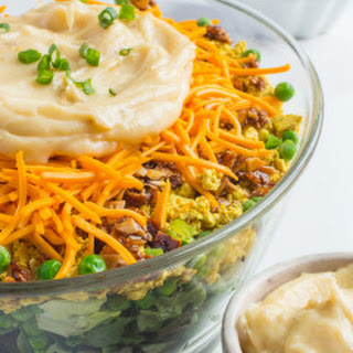 Perfect Vegan Seven Layer Salad
