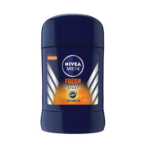 desodorante barra nivea fresh sport 50gr