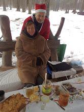 Photo: 2012.12.31. Susitikimas prie Glūko. Virgis ir Rima, pareigingi ir atsidavę glūkoidų idėjoms
