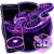 3D Fidget Spinner Neon Hologram Theme file APK Free for PC, smart TV Download