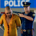 LA Police Run Away Prisoners Chase Simulator 2018 icon
