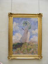 """Photo: Monet's """"Woman with a Parasol"""" from 1886."""