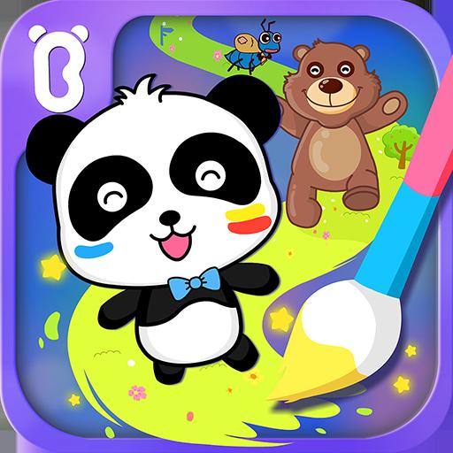 Baby Panda's Magic Lines (game)