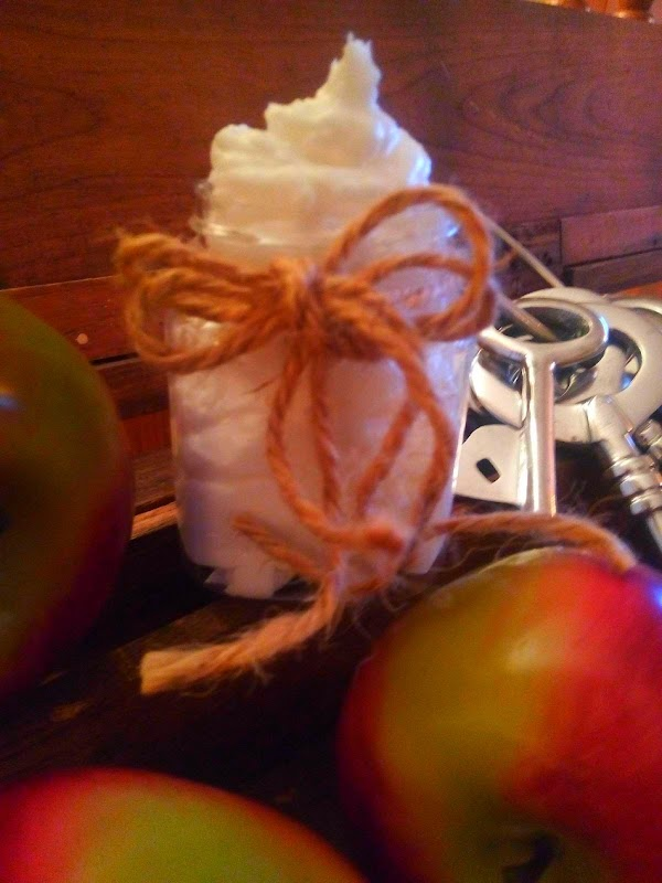 All Natural Creamy, Whipped Body Butter (easy) Recipe