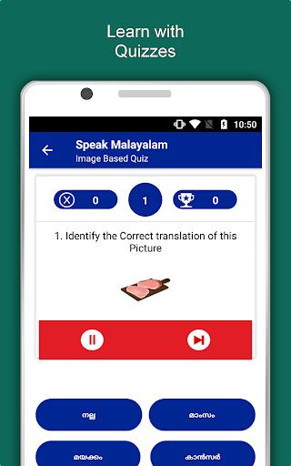 Speak Malayalam : Learn Malayalam Language Offline App Report on