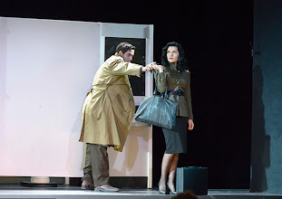 Photo: Wiener Kammeroper/ Theater an der Wien: RINALDO. Inszenierung Christiane Lutz. Premiere 4.12.2014. Tobias Greenhalgh,  Natalia Kawalek-Plewniak. Foto-Copyright: Barbara Zeininger