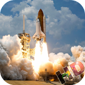 Space Rocket Video Wallpaper