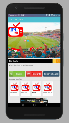 Live Cricket Tv 4.2 screenshots 3