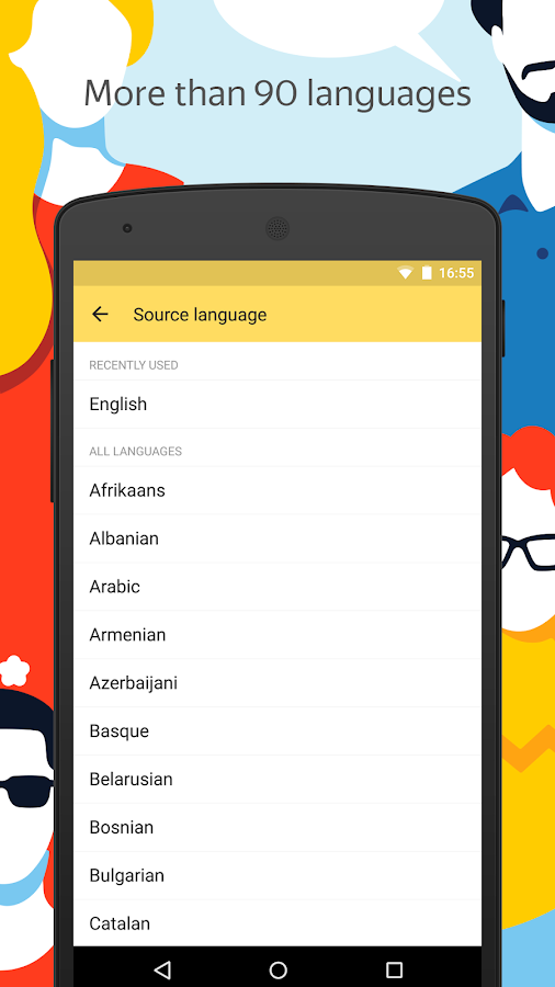 Yandex.Translate – offline translator & dictionary- screenshot