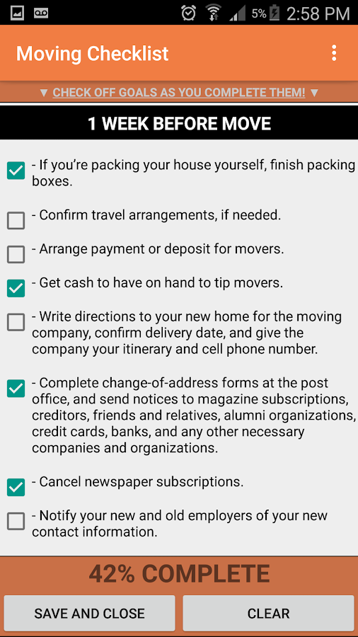 Moving Checklist PRO Android Apps on Google Play – Moving Checklist