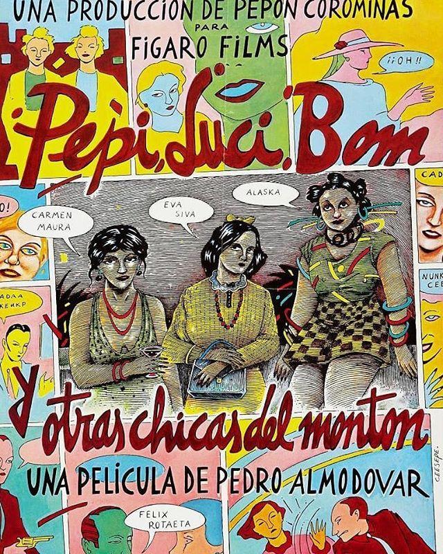 Pepi, Luci, Bom y otras chicas del montón (1980, Pedro Almodóvar)