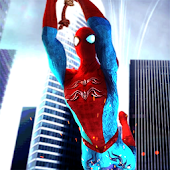 Fliegende Eisen Superhero Spider Mission icon