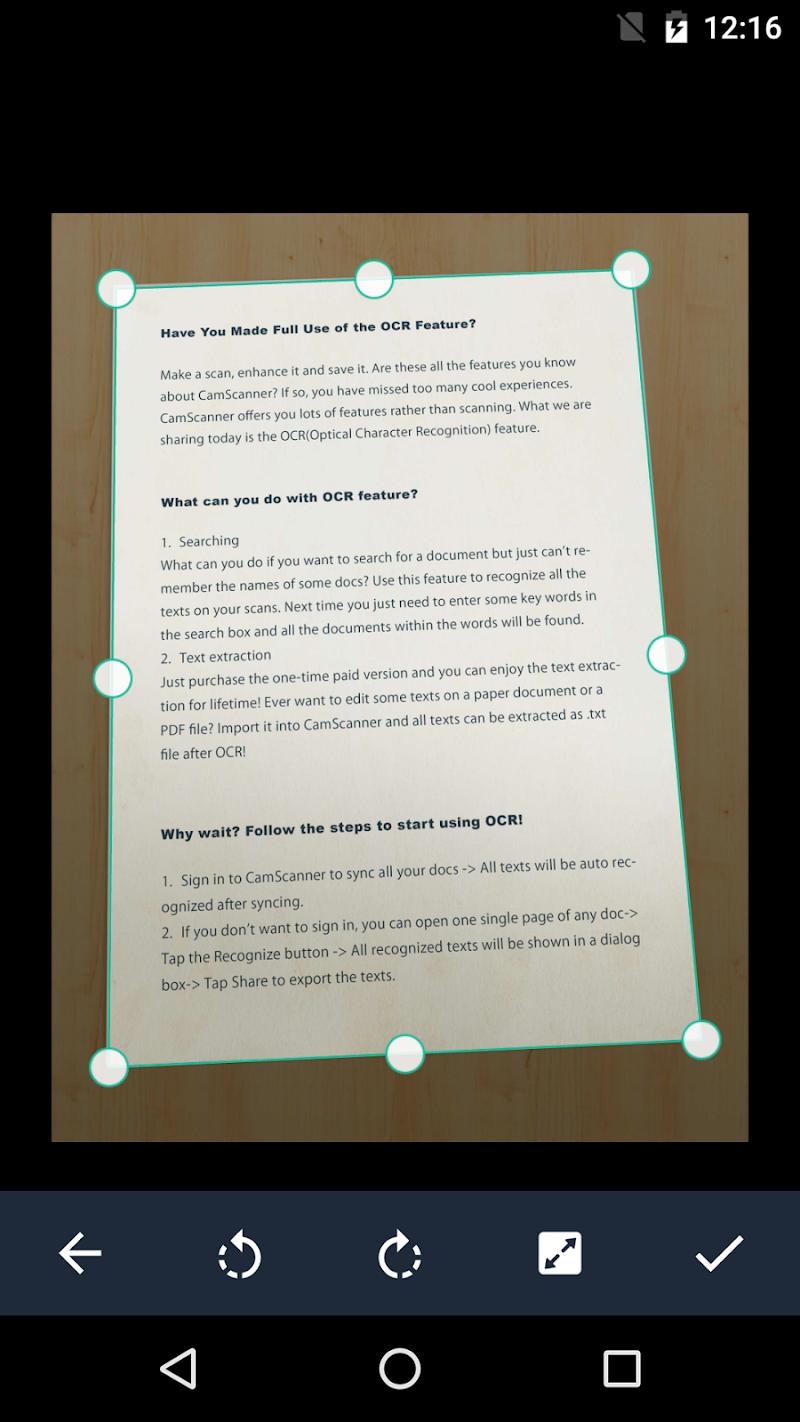 CamScanner - Phone PDF Creator Screenshot 1