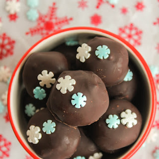 OREO Cookie Balls in Mint Chocolate