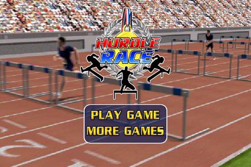 Hurdles Race Rio Games 2016