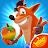 Crash Bandicoot: On the Run! logo