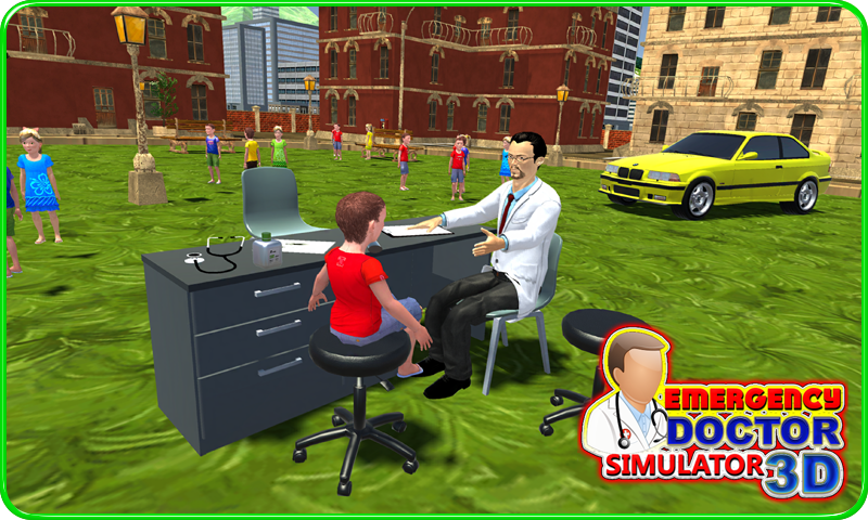Emergency Doctor Simulator 3D- screenshot