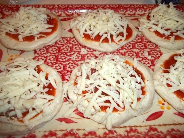 Sprinkle with desired amount of shredded Mozzarella, I used about 1 1/2 Tbs per...