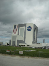 Photo: The VAB as seen from the press area.