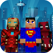 Superhero skins for Minecraft 3D