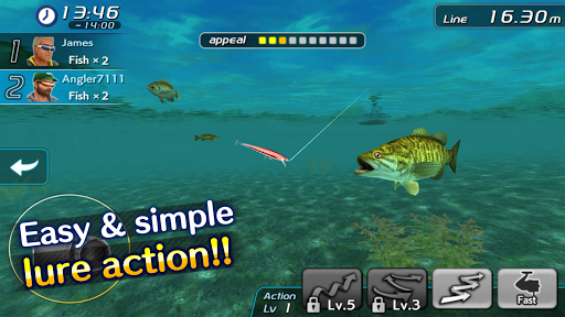 Bass fishing 3d ii apk 1 download only apk file for for Bass fishing apps