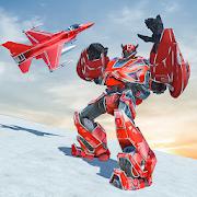 Air Jet Robot Transform : Robot Shooting Game