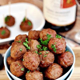 Cranberry Pinot Noir Meatballs
