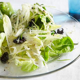 Butter Lettuce & Shaved Fennel Salad.
