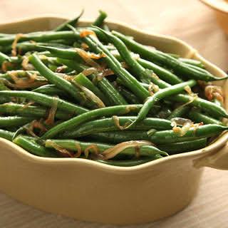 Basic Sautéed Green Beans.