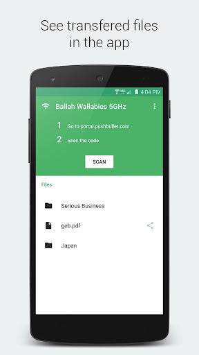 Portal - WiFi file transfers screenshot 3