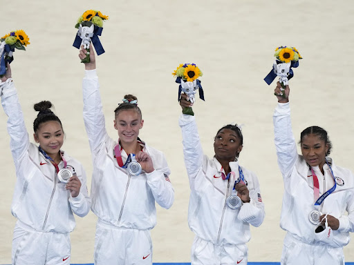 What Grace McCallum said after Team USA won silver at the Olympics