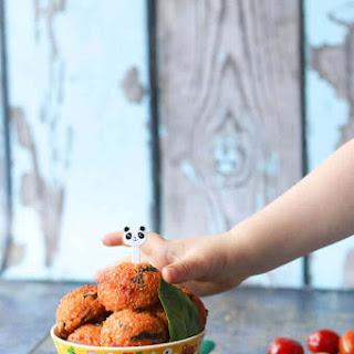 Cheese and Tomato Quinoa Balls Recipe