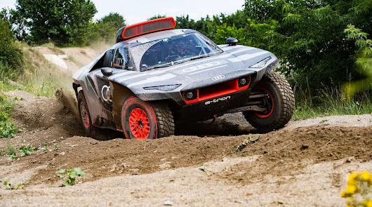 Audi RS Q E-TRON un laboratorio de pruebas en el Rally Dakar