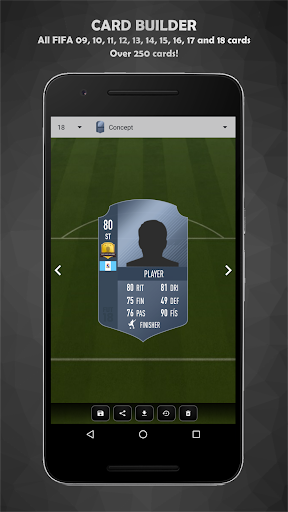 FUT Card Builder 18 3.8.3 screenshots 2