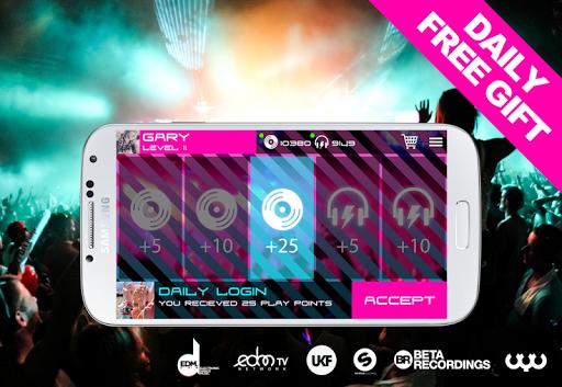 TapDJu2122 EDM Rhythm Game 0.1.8 screenshots 8
