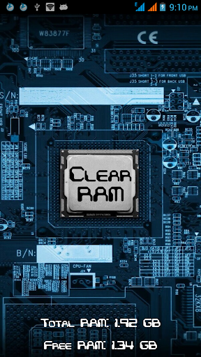 < 3 GB RAM Optimized Cleaner