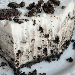 {No Bake} Triple Layer Oreo Pudding Pie Recipe