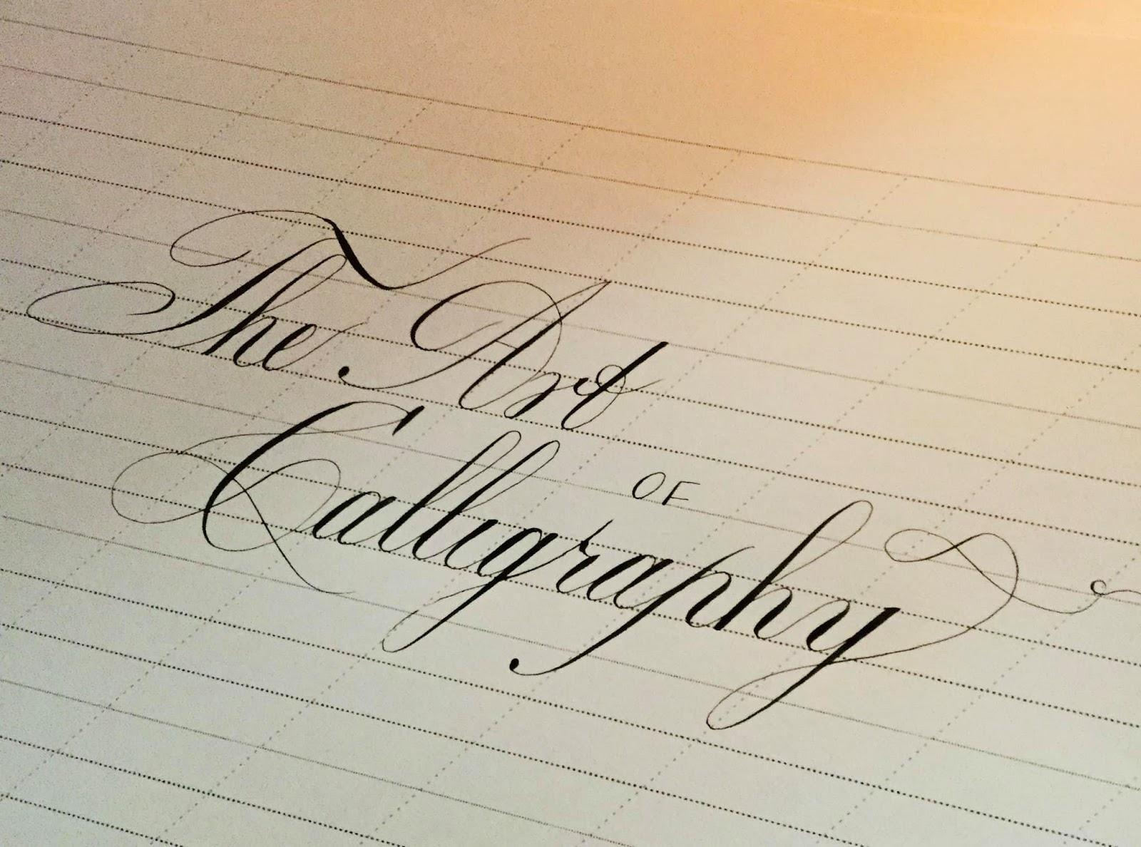 21 Ngày Tự Học Calligraphy - Kiểu Chữ Copperplate - SuSu Happy
