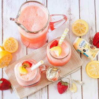 No Sugar Added Strawberry Lemonade