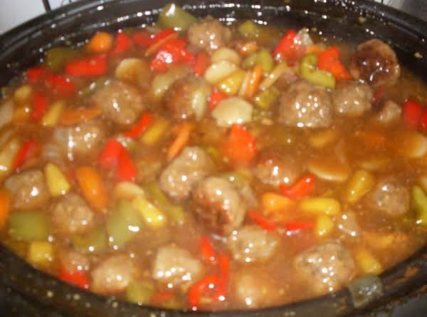 Waikiki Sweet & Sour Meatballs Recipe