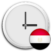 Egypt Clock & RSS Widget