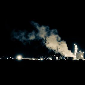 Industry Steam by Mauricio Alas - City,  Street & Park  Vistas